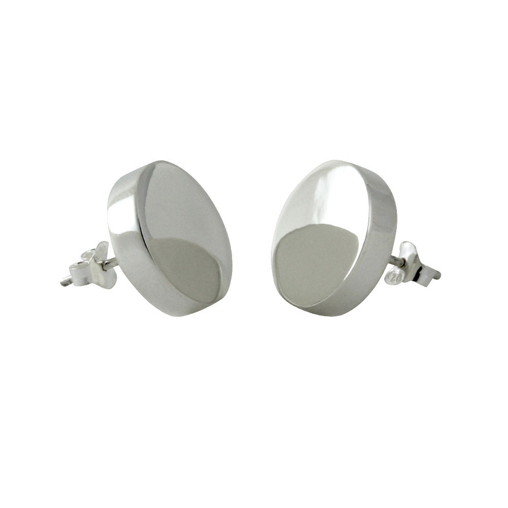 heathergems stud silver item earrings round