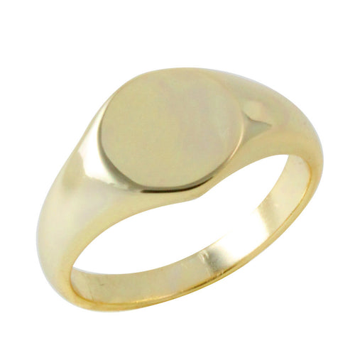 Gold-Dipped MIni Signet Ring