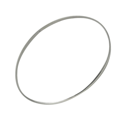 Thin Sterling Silver Bangle Bracelet