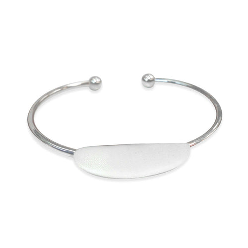 Sterling Silver Children's Baby Cuff Bangle