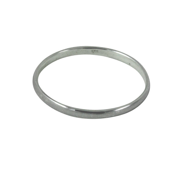"""Whispers"" Sterling Silver Thin Band Midi Ring 2mm"