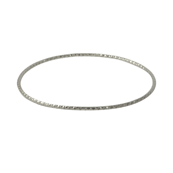 """Galaxy"" Sterling Silver Bangle Bracelet Slim"