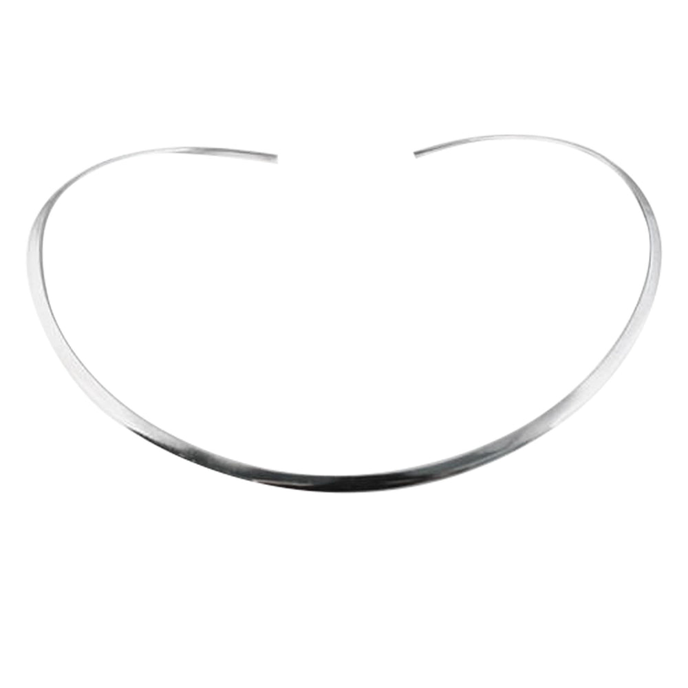 """Skinny"" Sterling Silver Thin Collar Necklace"