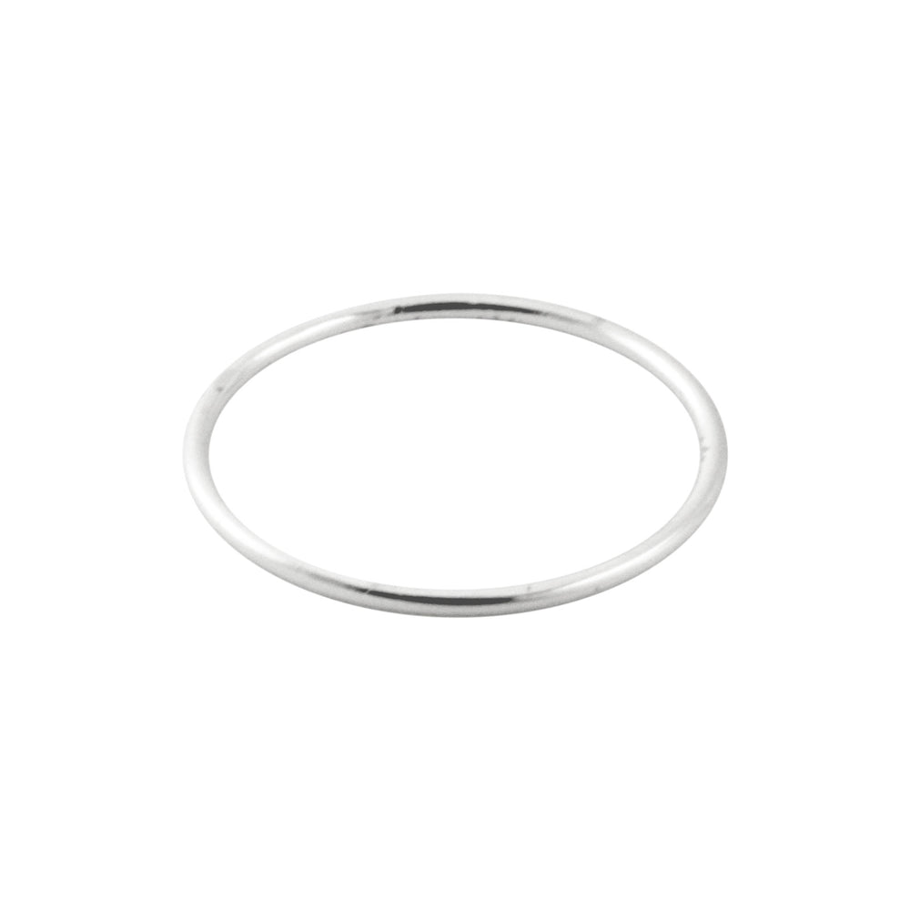 Simple Sterling Silver Thin Band Ring