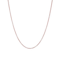 Rosy Thin Link Chain Necklace