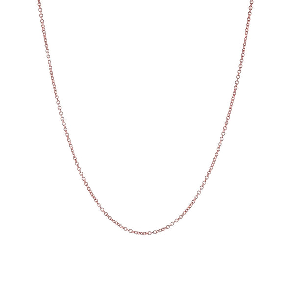 Rosy Rolo Link Chain Necklace 16 - 30 inch