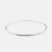 Stackable Slim Sterling Silver Bangle Bracelet 3mm