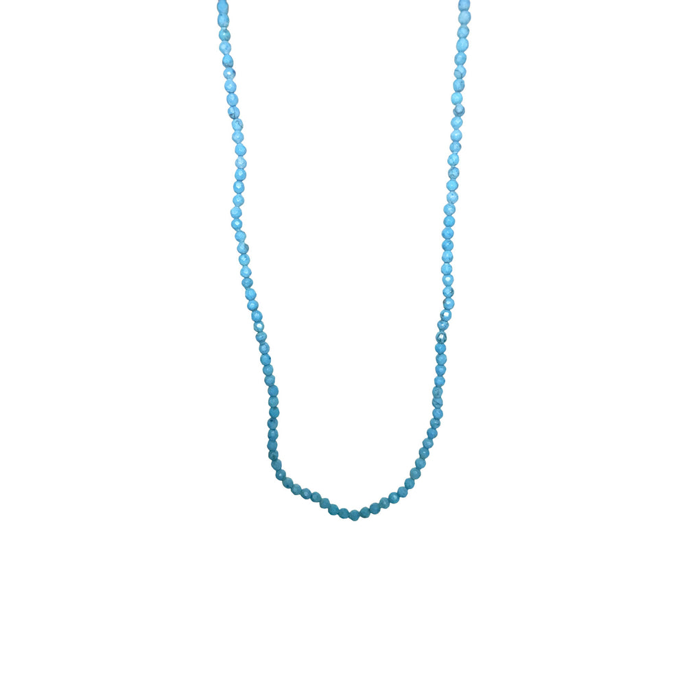 Turquoise Bead Strand Necklace