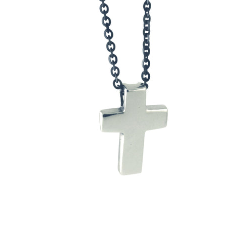 Modern Cross Pendant Necklace
