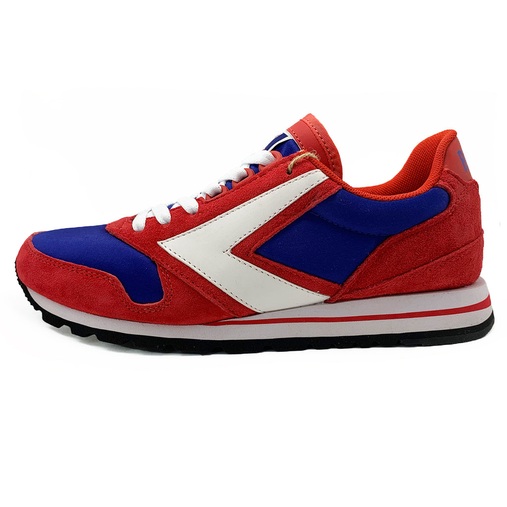 New Men's Sneakers Brooks Lace-up Chariot Red Royal - brand-new-original Shoes & Caps