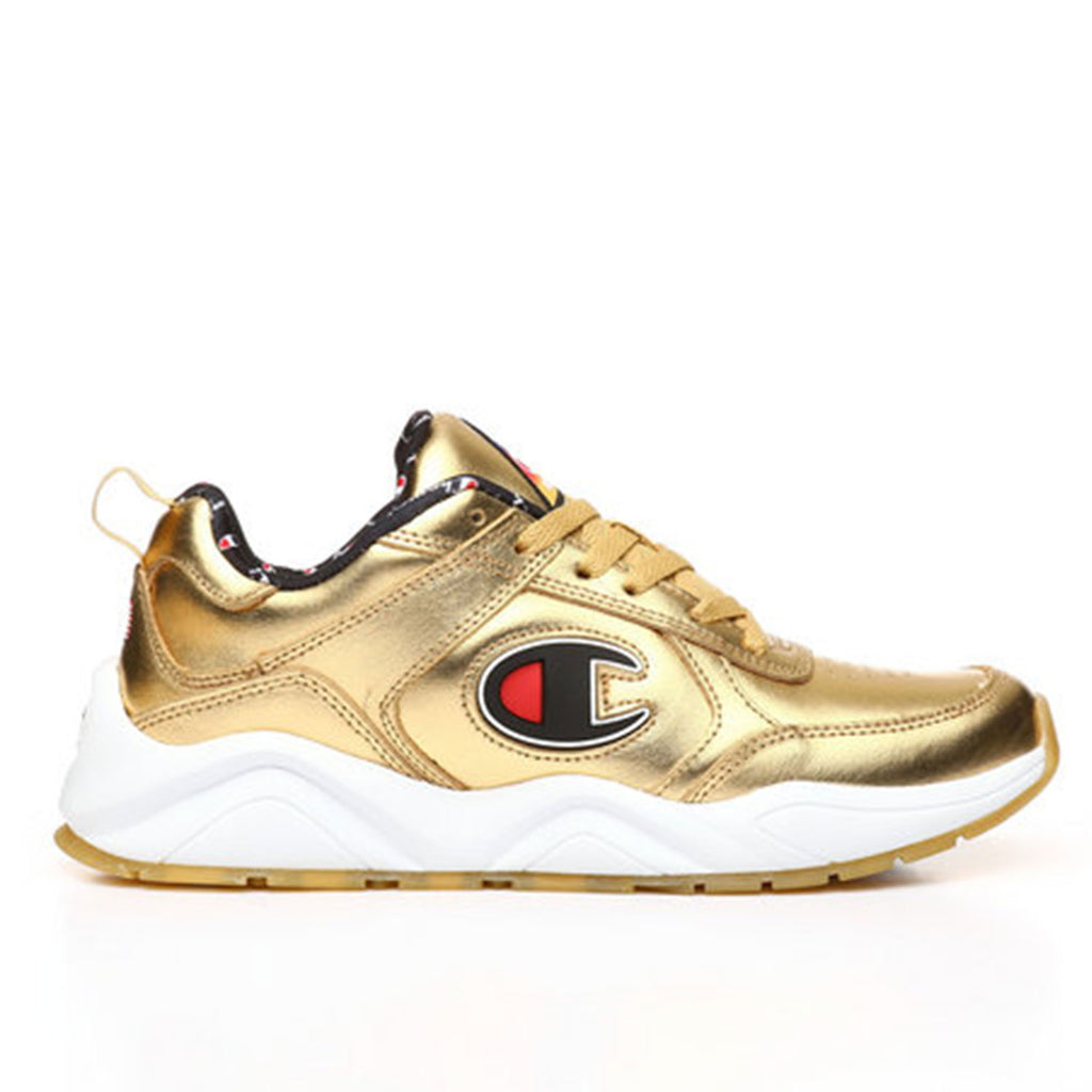 New Men's Classic Sneakers Shoes Champions 93 Eighteen Metallic Gold - brand-new-original Shoes & Caps