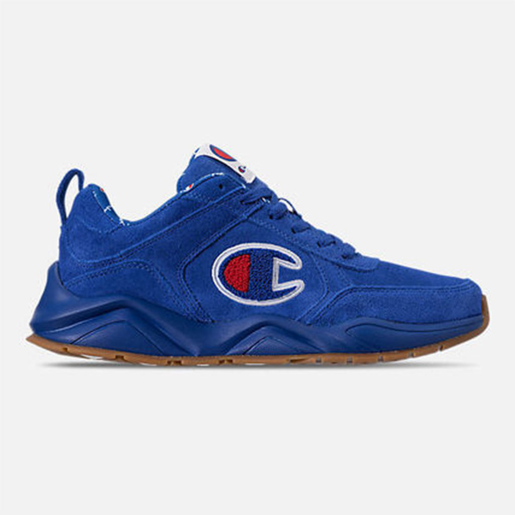 New Men's Classic Sneakers Shoes Champions 93 Eighteen Blue - brand-new-original Shoes & Caps