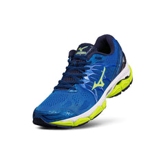 New Men's Mizuno Running shoes Wave Horizon Dark Royal / Volt - brand-new-original Shoes & Caps