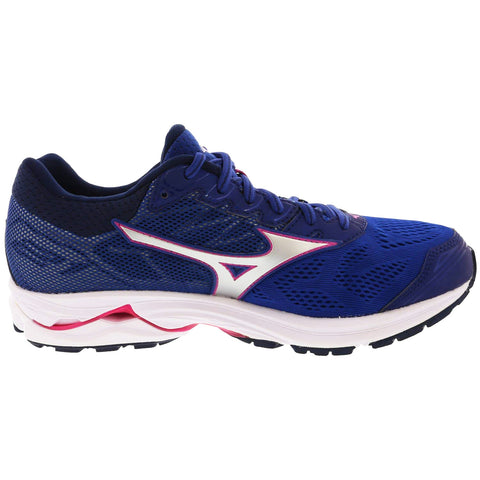 New Men's Mizuno Running shoes Wave Rider 21 Royal / White - brand-new-original Shoes & Caps