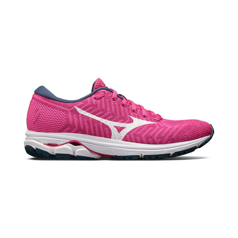 New Women's Running shoes Mizuno Wave Knit R2 Pink / White - brand-new-original Shoes & Caps