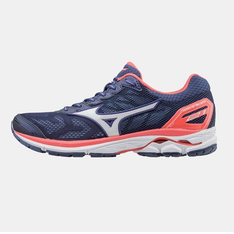 New Women's Running shoes Mizuno Wave Rider 21 Purple / Coral - brand-new-original Shoes & Caps