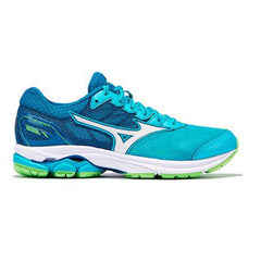 New Women's Running shoes Mizuno Wave Rider 21 Turquoise / Royal - brand-new-original Shoes & Caps