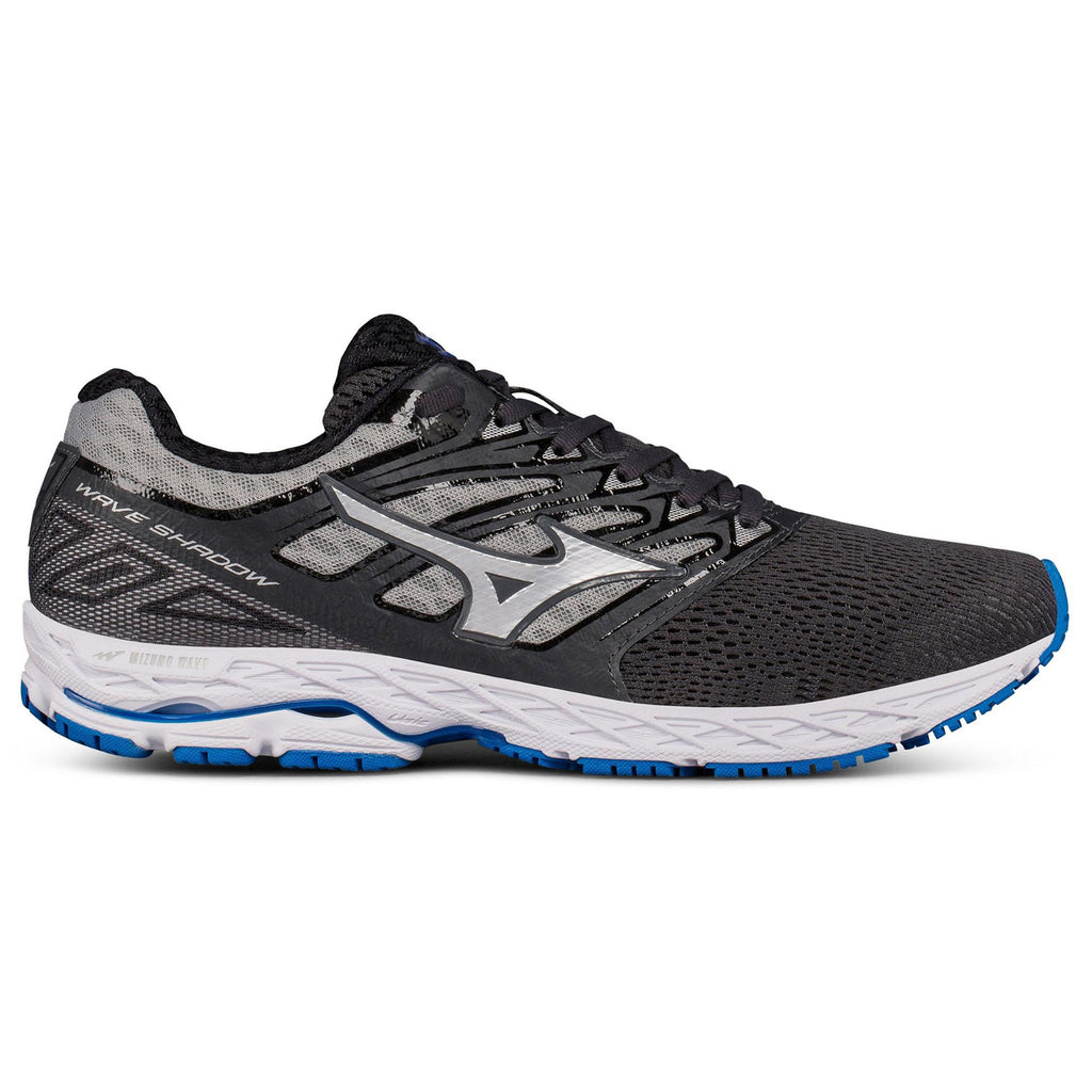 New Men's Mizuno Running shoes Wave Shadow Grey / Blue - brand-new-original Shoes & Caps