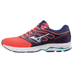 New Women's Running shoes Mizuno Wave Shadow Coral / Navy - brand-new-original Shoes & Caps