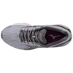 New Women's Running shoes Mizuno Wave Inspire 14 Wide shoes Grey / Purple - brand-new-original Shoes & Caps