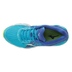 New Women's Running shoes Mizuno Wave Inspire 14 Turquoise / Blue - brand-new-original Shoes & Caps