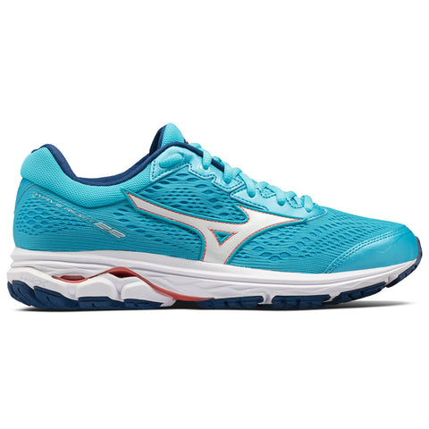 New Women's Running shoes Mizuno Wave Rider 22 Turquoise / White - brand-new-original Shoes & Caps