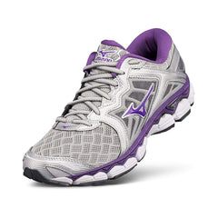 New Women's Running shoes Mizuno Wave Sky Grey / Purple - brand-new-original Shoes & Caps
