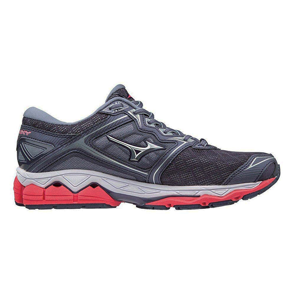 New Women's Running shoes Mizuno Wave Sky Grey / Red - brand-new-original Shoes & Caps