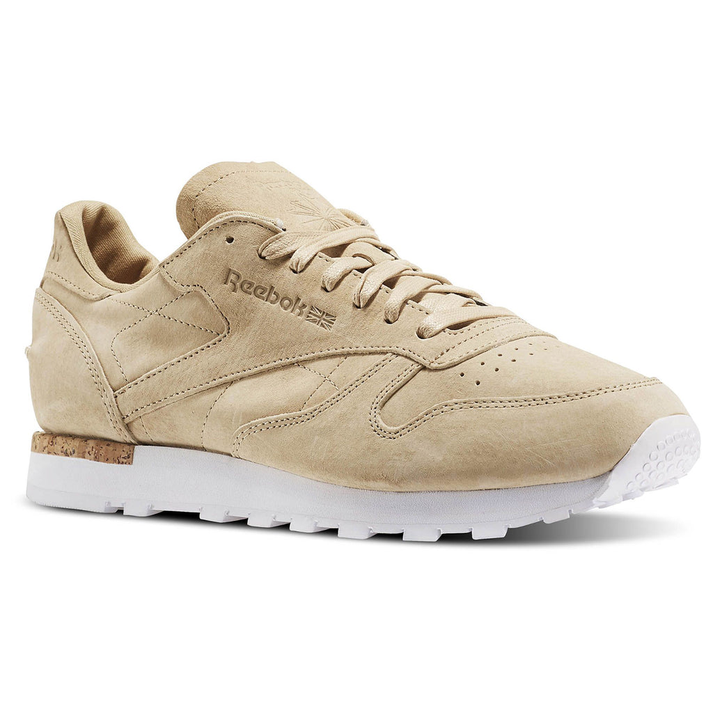 New Men's Classic Leather Sneaker Shoes Reebok Retro CL Khaki - brand-new-original Shoes & Caps