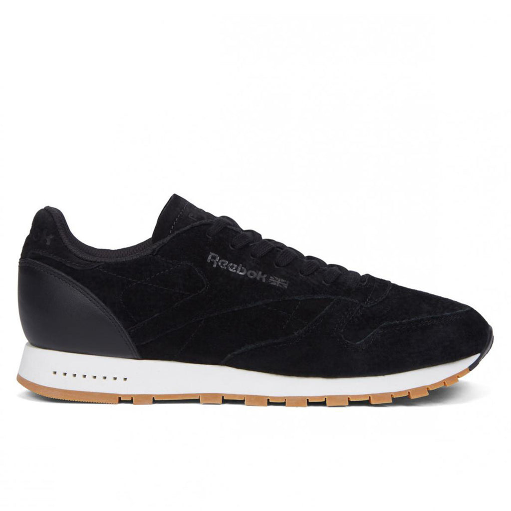 New Men's Classic Leather Sneaker Shoes Reebok Retro CL Leather SG Black - brand-new-original Shoes & Caps
