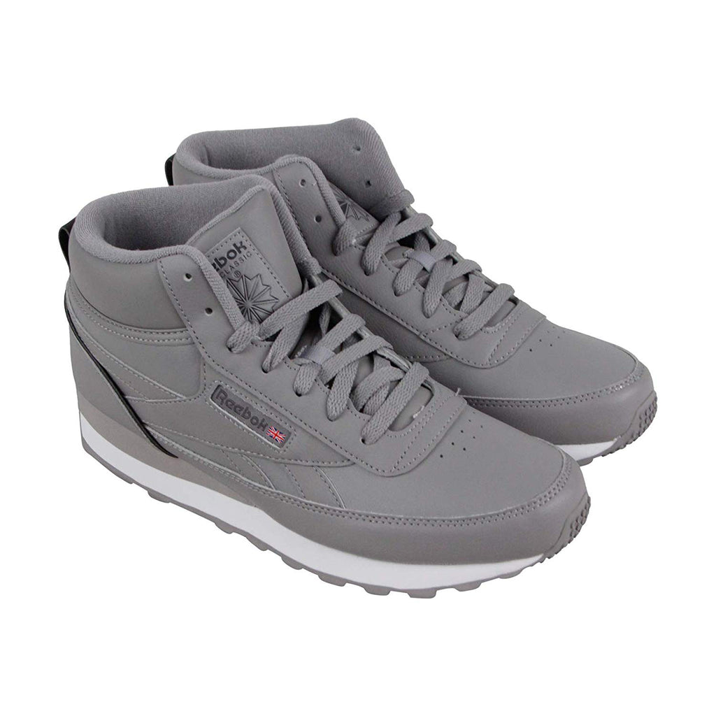 New Men's Classic Sneaker Shoes Reebok CL Renaissance MID Grey - brand-new-original Shoes & Caps