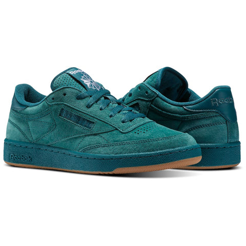 New Men's Classic Sneaker Shoes Reebok Retro Club C 85 SG Green - brand-new-original Shoes & Caps