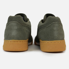 New Unisex Classic suede Sneaker Old school Reebok Workout Plus Eg Olive Green - brand-new-original Shoes & Caps