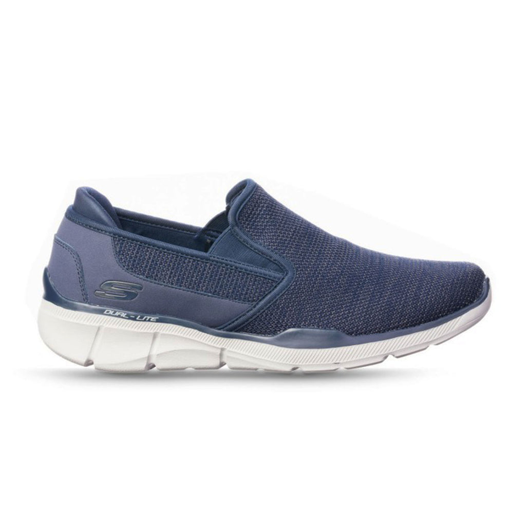 New Men's Loafer Moc Skechers Equalizer 3.0 Sumnin Memory Foam Navy Blue - brand-new-original Shoes & Caps