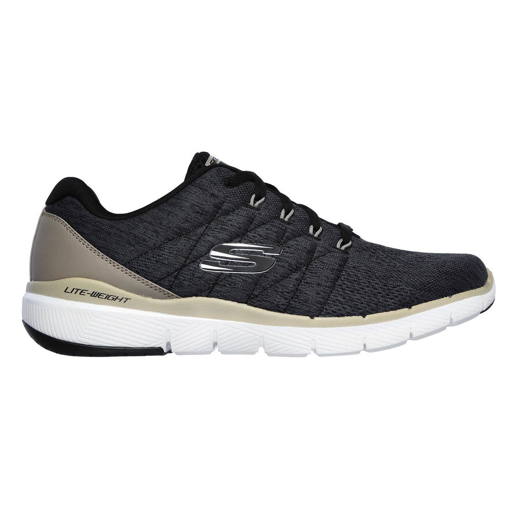 New Men's Running Shoes Skechers Flex Adventage 3.0 Memory Foam Black shoes - brand-new-original Shoes & Caps