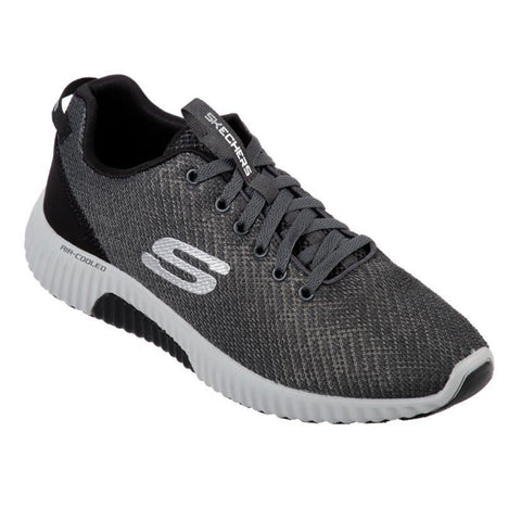 New Men's Running Shoes Skechers Paxmen Wildespell Memory Foam Grey / Black - brand-new-original Shoes & Caps