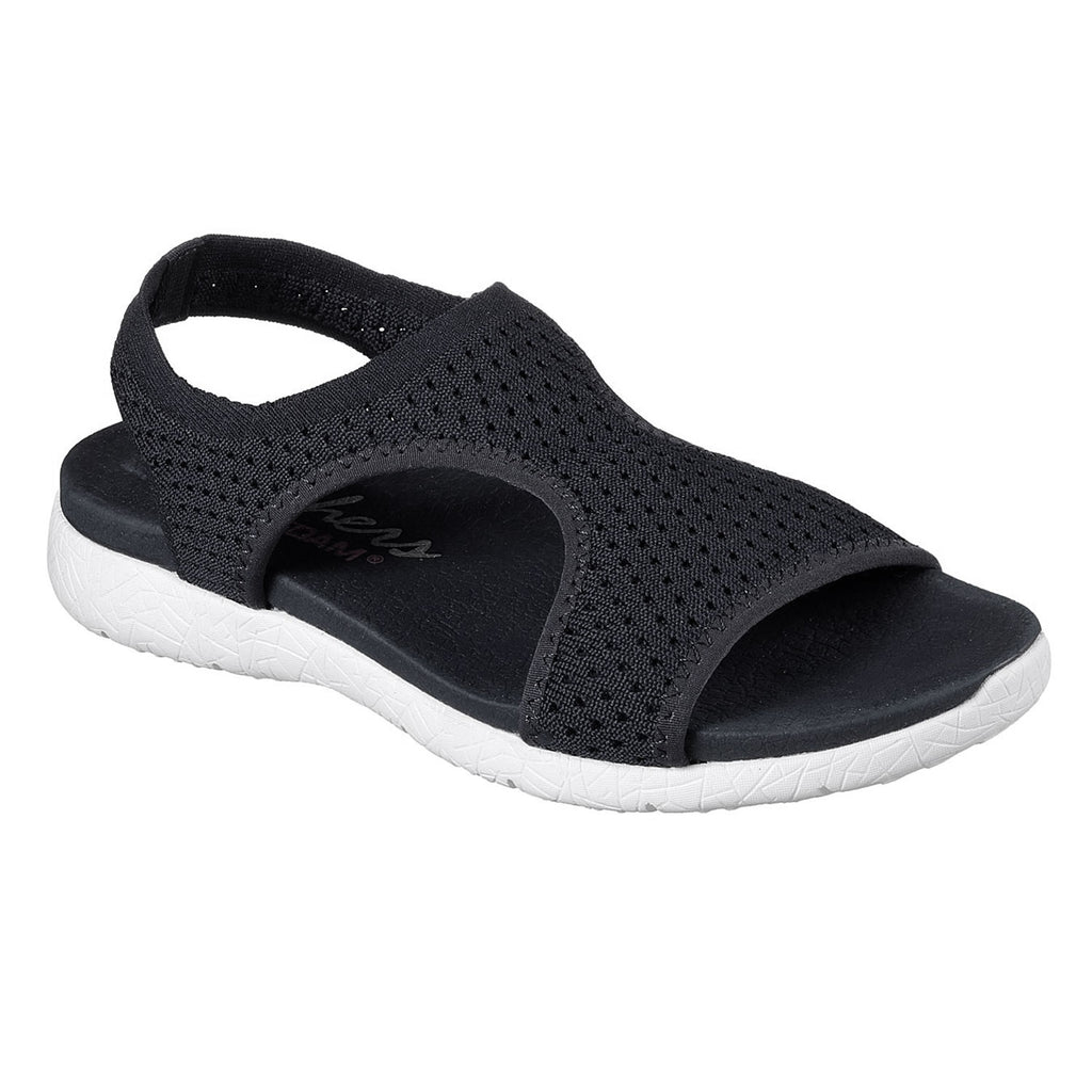 New Women's Sandals Skechers Microburst yoga Foam Black - brand-new-original Shoes & Caps