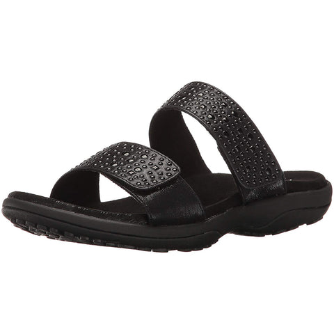 New Women's Sandals Skechers ReggaeRedondo Memory Foam Black - brand-new-original Shoes & Caps