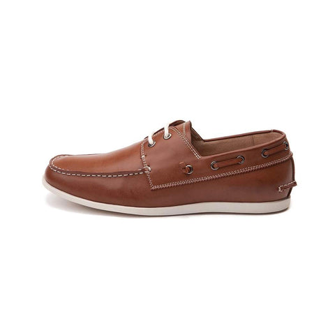 New Men's Loafer Moc Steve Madden M-Gunta Cognac - brand-new-original Shoes & Caps