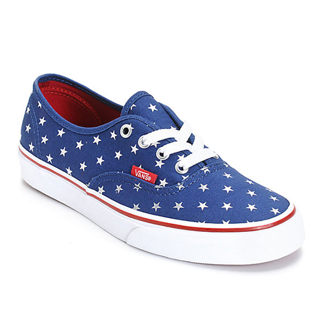 New Original Mens Sneaker Vans Authentic Studded Stars Blue - brand-new-original Shoes & Caps