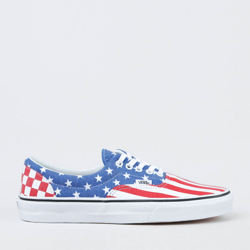 New Originals Unisex Sneaker Vans Era Van Doren Stars Blue / Red - brand-new-original Shoes & Caps