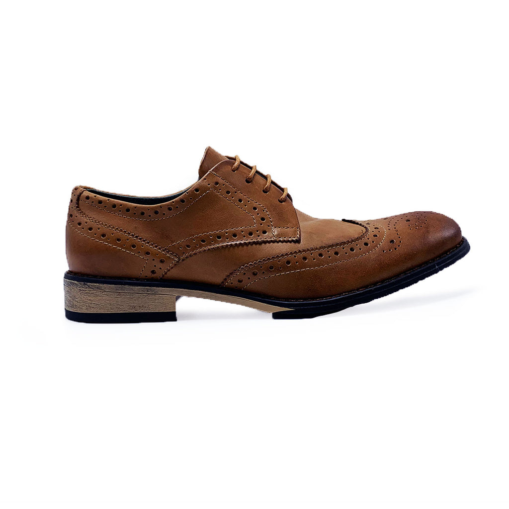New Men's Casual Shoes j75 low leather Cognac - brand-new-original Shoes & Caps