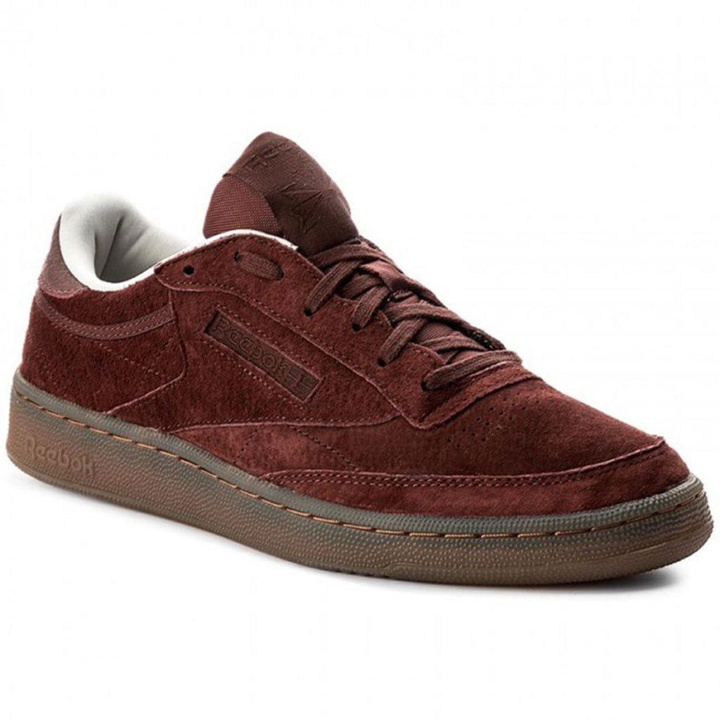 New Men's Classic Sneakers Shoes Reebok Club C 85 G Burnt Sienna - brand-new-original Shoes & Caps