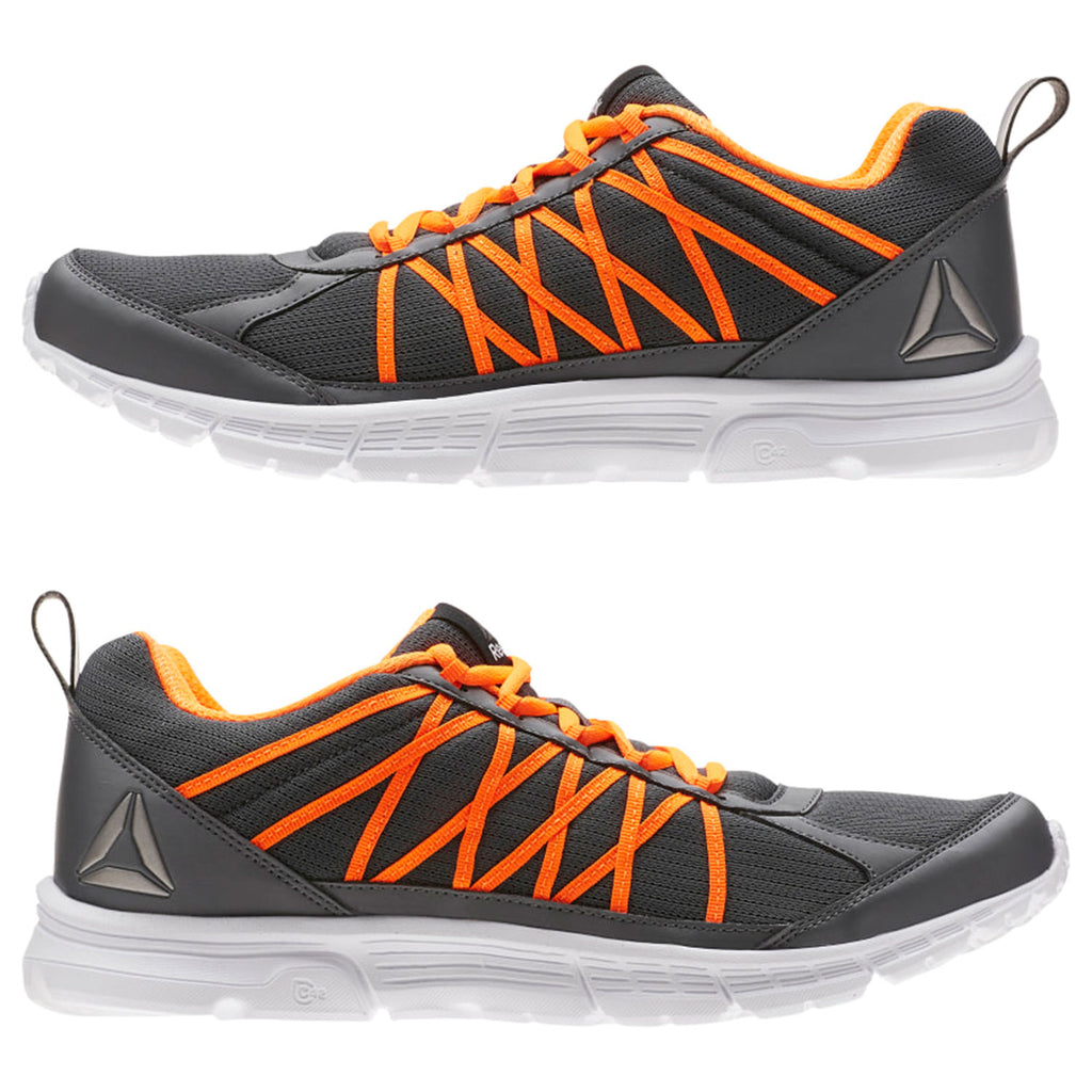 New Men's Running Shoes Reebok Speedlux 2.0 Grey / Orange - brand-new-original Shoes & Caps