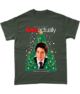 Hugh Grant Love Actually T-Shirt - Winter 2018 Limited Edition