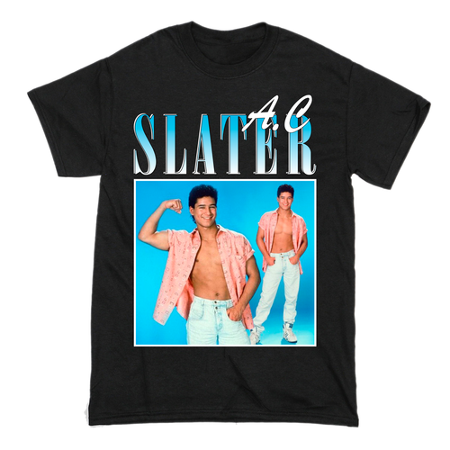 AC Slater Saved by the Bell T-Shirt