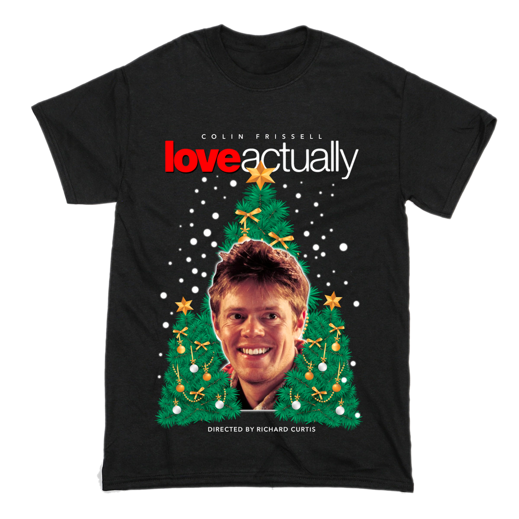 Colin Frissell Kris Marshall Love Actually T-Shirt