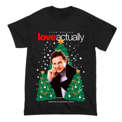 Liam Neeson Love Actually T-Shirt