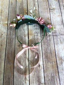 The Kahlo Floral Wreath