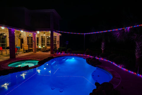 Outdoor Pool LED Lights